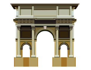 arch architectural structure