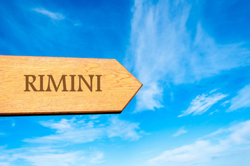 Destination RIMINI, ITALY