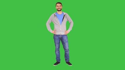 Smiling Man in confident pose
