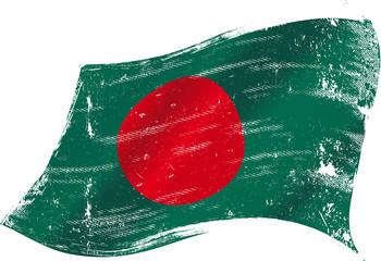 Bangladeshi grunge flag