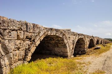 Ancient stadium in Perges, Turkey