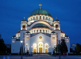 Cathedral of Saint Sava in Belgrade, Serbia