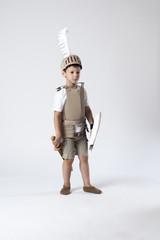 medieval knight child