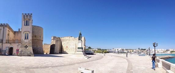 Otranto, piazza degli eroi