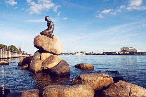 Póster Kopenhagen Kleine Meerjungfrau