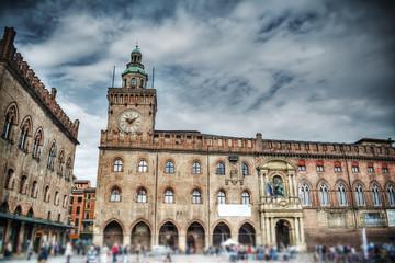 Palazzo d'Accursio in Piazza Maggiore, Bologna