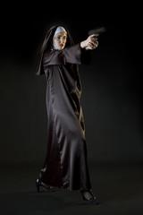 Nun shooting