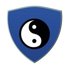 escudo ying yang