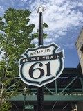 Memphis Blues Trail Highway 61 poster