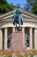 König Wilhelm I. von Württemberg, Bad Cannstatt
