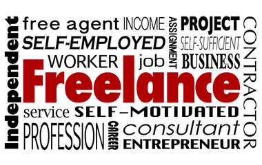 Freelance Contract Worker Employee Independent Consultant Word C