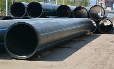 Большие трубы для газа и нефти