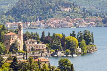 Lago di Como - Tremezzo con Bellagio su sfondo