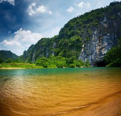 Phong Nha cave's entrance