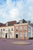 Ancient city houses in Amersfoort, The Netherlands
