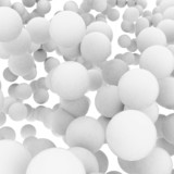 abstract_group of spheres - 83123475