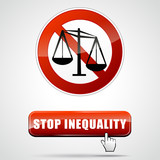 stop inequality poster