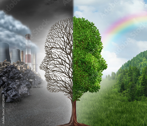 Plakat Environment Change