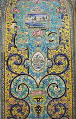 Arabic tile decoration
