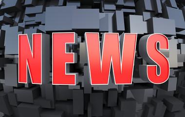 Futuristic NEWS background