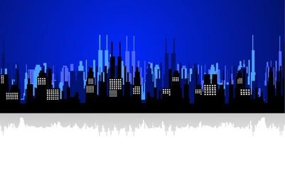 Illustration For City Landscape