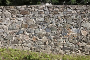 rock stone wall