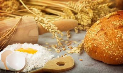 Frisches Brot backen