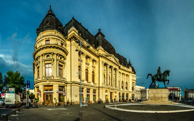 BUCHAREST, RO, MAY 2015 -- University Library