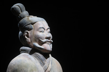 Terracotta army, replica of warrior