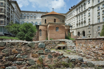 ancient church of St. George - Sofia, Bulgaria
