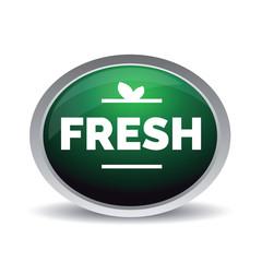 Fresh button green