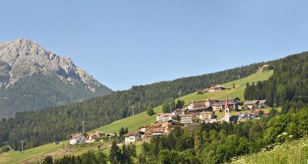 Mountain Village in the summer