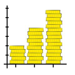 bar chart metaphor of exchange