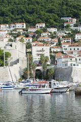 Dubrovnik Croatia Boat Marina Scenic