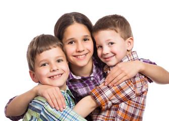 Three kids together