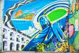 Fototapety Graffiti in Rio de Janeiro