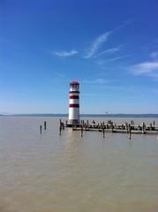 Light Tower In Podersdorf At Lake Neusiedl