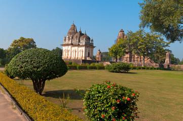 Pratapeshwar Temple and Vishvanath temple in  Khajuraho