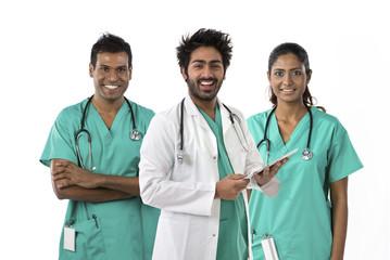 Indian medical team.