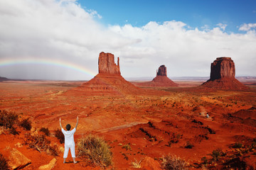 Navajo Reservation in the US