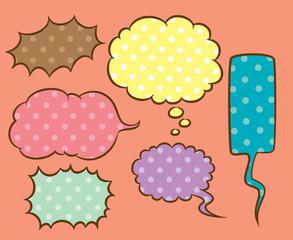 cute speech bubble