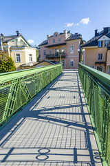 old bridge at Traun river - Bad Ischl