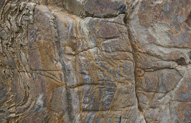 Rock background texture with lines and natural pattern