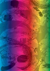 fondo arcobaleno