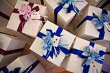 Scatole regalo per bomboniere viste dall