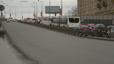 traffic congestion Russia poster