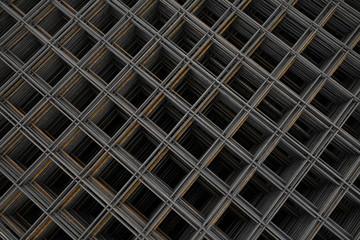 Baustahlgewebe - Lagermatten - von oben