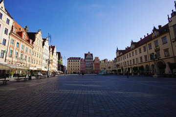 Old Town in Wroclaw