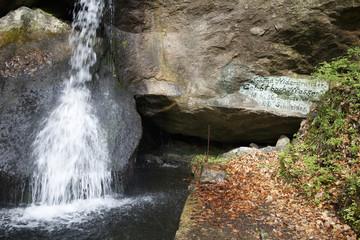 Wasserfall im Gelobtbachtal