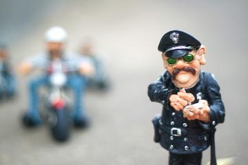"clay figurine ""police"""